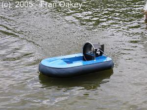 Custom racer hovercraft